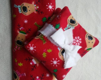 Kids Heating Pad - Reindeer Gift for kids - hot cold pack - Reusable Heat Pad - Stocking Stuffers - Christmas Gift Ideas - Gifts under Ten