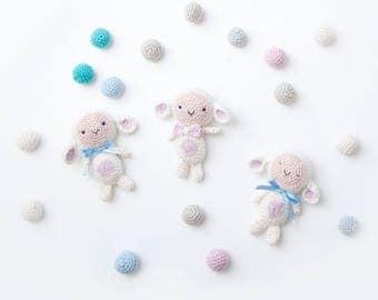 Lille LaLaLam (lamb) Crochet Pattern