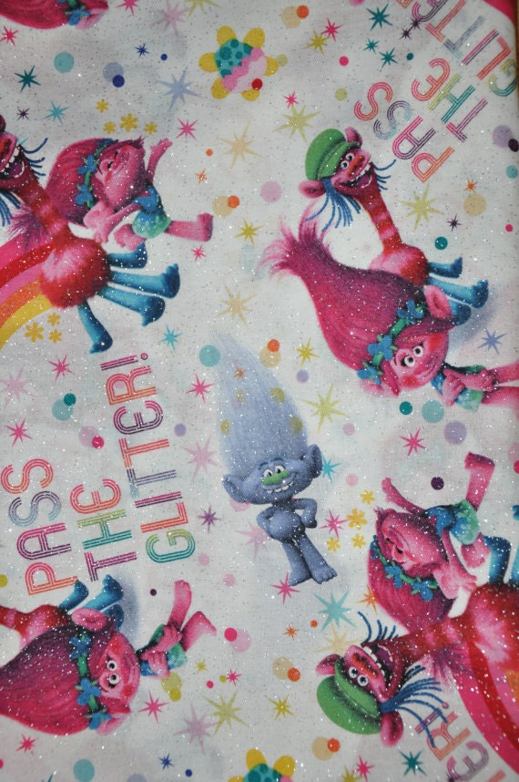 Dreamworks Trolls Kids Room Drapes