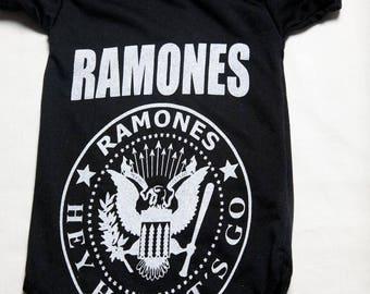 BOS- 4 Ramones Baby Onesie