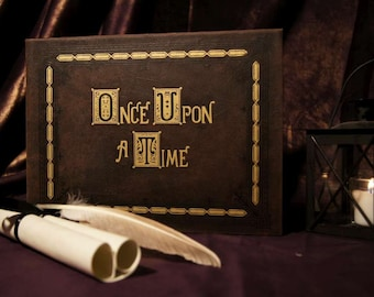 Once Upon A Time Jewelry Box Replica - Hollow Book Box Replica (Inspired by OUAT Once Upon A Time)
