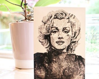 Marilyn Monroe A6 Notecard with Envelope