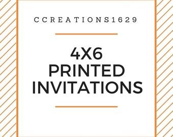 Add-On Printed Invitations