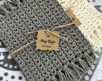 Crochet Mug Rugs / Coasters / Drink Coasters / Home Decor / Table Savers