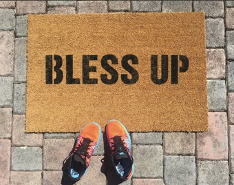 Bless Up Jamaican Doormat by One Summer