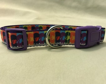 Beatles Dog Collar, Music Dog Collar, The Beatles Dog Collar