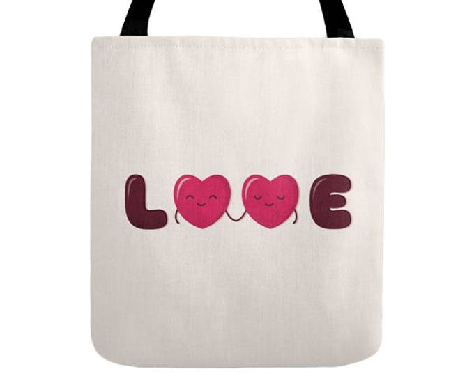 Love Tote Bag - Cute Doodles