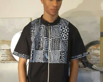 Bami- Male pimp African shirt