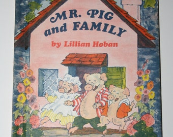 Mr Pig and Family- I Can Read, Vintage Book