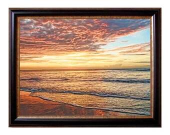 Beach print, beach decor, ocean waves print, coastal wall art, tropical print, ocean print, beach wall photography, coastal decor