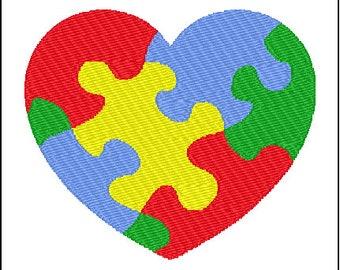 Autism Embroidery Design