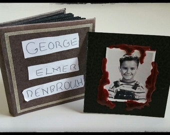 """George Elmer Denbrough Photo album from movie """"IT"""" by Stephen King"""
