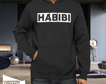 Habib Love Hoody Hooded Sweatshirt Arabic