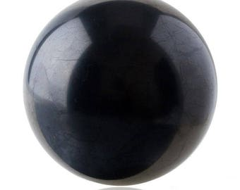 Shungite sphere  polished  40 mm / 1.69 in Powerful Healing, Protect