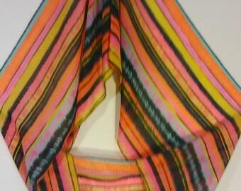 67.  Pretty multi-color scarf