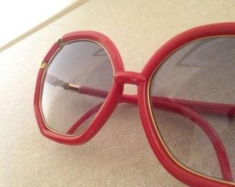 Vintage Huge Sunglasses