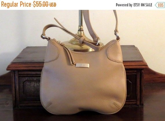 Football Days Sale Cole Haan Tan Hobo Style Shoulder Bag- Very Good Condition