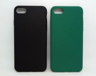 Black Green MINIMALIST iPhone 7 case iPhone 7 Plus case iphone 6 case iphone 6 plus case iphone 6s case Plastic hard case for men