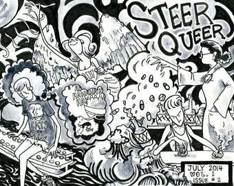 Steer Queer Vol 1 Issue 2: Mental Health