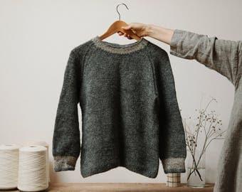 Biches & Bûches no. 25, knitting kit, sweater