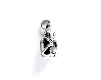 Small silver Frey VIKING KRISTALL pendant