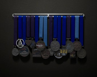Hang Bar Only - Allied Medal Hanger Holder Display Rack