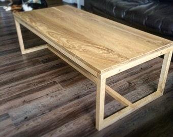 Oak coffee tableEtsy