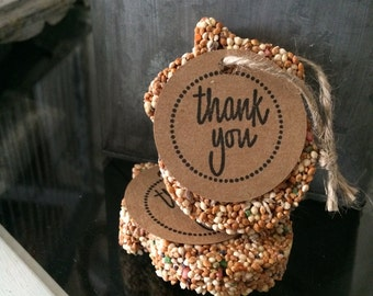 Acorn Bird Seed Favors (50)