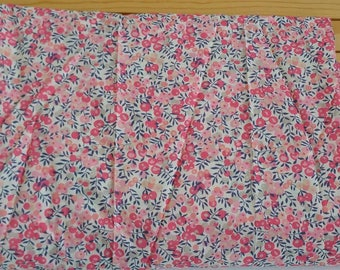 liberty of london tana lawn made into bias tape, quilt binding, piping. Wiltshire pink 20% code SPRING2017