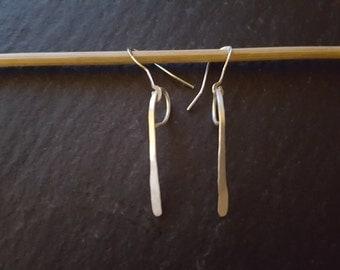 Sterling Silver Droplet Earrings 925