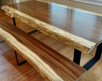 Live Edge Guanacaste Dining Tables