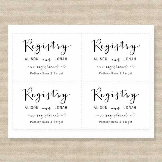Wedding registry card template gift list printable gift wedding registry card template gift list printable gift registry template editable wedding registry card color editable in ms word junglespirit Image collections