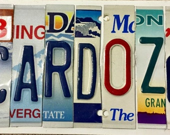 Personalized Vanity License Plates