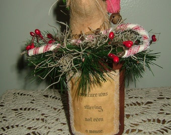 Primitive Mouse In Rusty Can~Not A Creature Was Stirring~Finally Quantity!