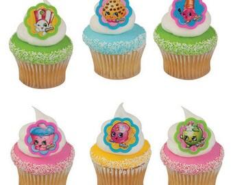 Shopkins® I Love Shopkins® Cupcake Rings - 24 Count