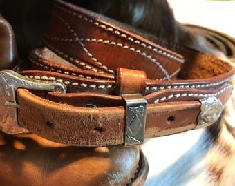 Vintage Country western cowboy/cowgirl belt