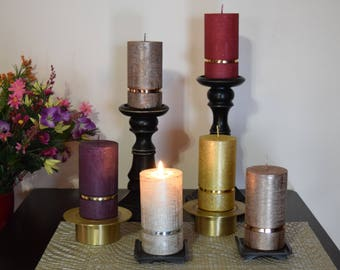 Pure Collection - Dripless German Pillar Candles