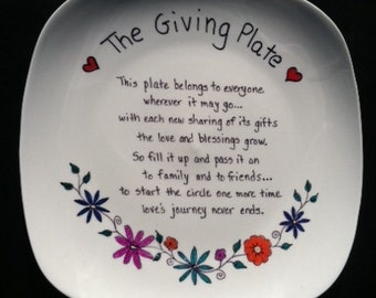 The Giving Plate, Large