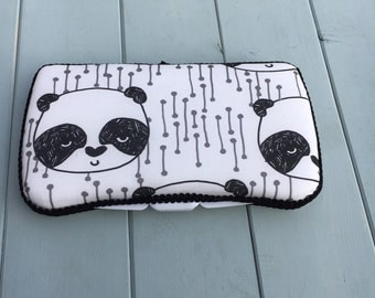 Panda, Wipe Case, Wipes Case, Baby Wipe Case, Baby Wipes Case, Wipes Holder, Travel Wipes Case, Diaper Bag, Baby Gift, Baby Shower