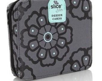 Making Memories Slice Elite Design Card Storage Case Blue 35943 Holds 24 cards