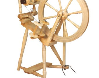 Kromski Prelude Spinning Wheel With 50 Dollar Instant Shop Coupon and Free Shipping!