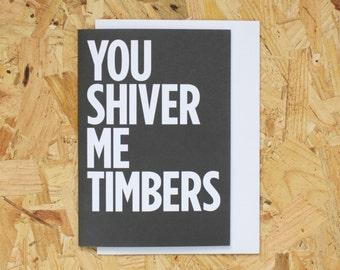 You Shiver Me Timbers ***FLASH SALE***