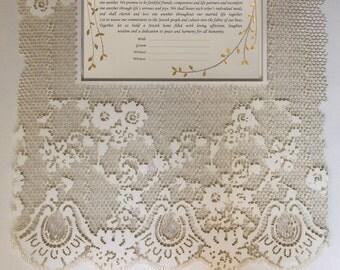 Lase cut Ketubah, Ketubah, Modern Ketubah,paper cut ketubah, wedding vows, Marriage Certificate, jewish ketubah, wedding contract, ketubbah