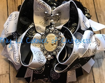 Vintage Inspired Over the Top Boutique Bow
