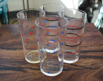 Set of 4 Glass Tumblers