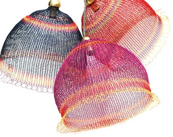Pendant Light Kit, DIY Pendant light kits, Wire Crochet kit,  Home decor Ideas, Craft Kit, Home Gifts Kit, Housewarming gift, DIY Projects