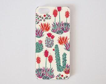 iPhone SE Case - Cactus iPhone 5 Case - iPhone 5s Case - Floral iPhone Case - Litoral Central - Flor de Chile Special Collection