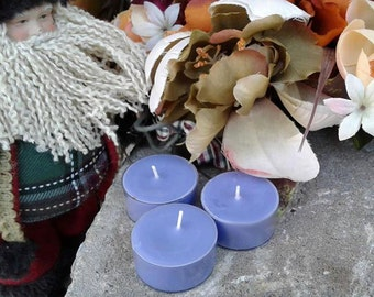 White Cedar and Mulberry Yule Christmas Soy Wax Tealight Candles