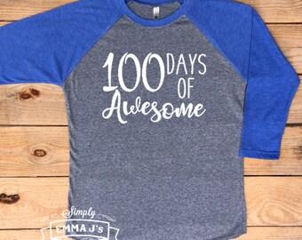 100 days of school, teacher shirt, 100th day of school, teacher, baseball shirt, teacher gift, gift idea