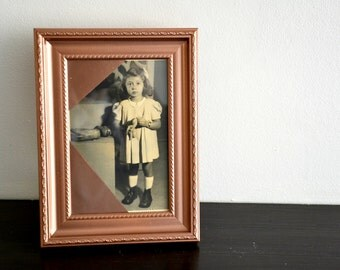Original photograph vintage photo frame old family wedding decoration